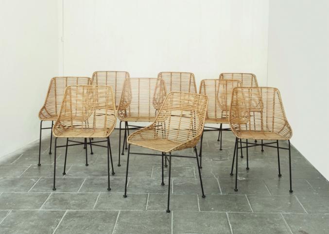 Muebles de rattan, también en interiores - Pilma