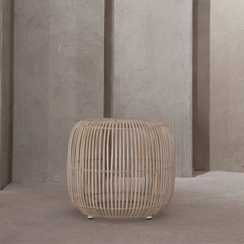 Leyte side table / pouff